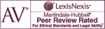 Peer Review Rated - Martindale Hubbell