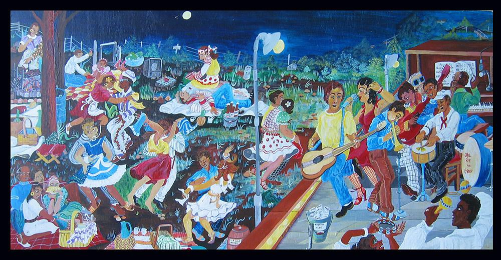 Dancing Field by Ruth Mae McCrane