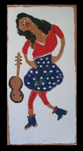 Dancing Lady by Jimmie Lee Sudduth