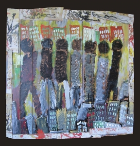 People City by Purvis Young